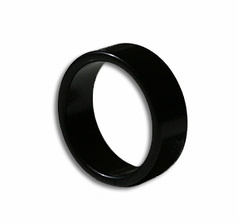 Magnetic Ring Black 20mm - Flat Band
