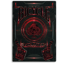 Bicycle Evolution Deck Red