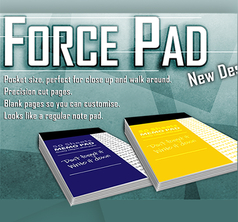Force Pad 2 (Small/Blue) Set of Two by Warped Magic