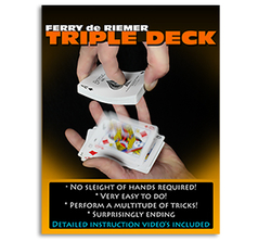Triple Deck (Red) by Ferry De Riemer