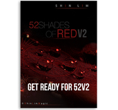 52 Shades of Red Version 2 by Shin Lim