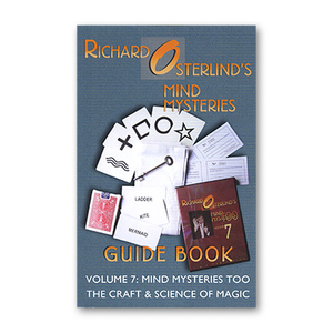 Mind Mysteries Guide Book Vol. 7 by Richard Osterlind