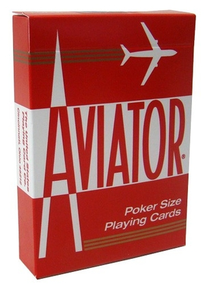 Aviator Poker size (Red)