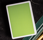 Steel Green Playing Cards (V2 Edition)