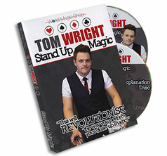 Stand up Magic (2 DVD) by Tom Wright