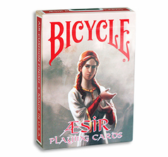 Bicycle AEsir Viking Gods Deck (Röd)