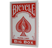 Jumbo Bicycle Cards Röd