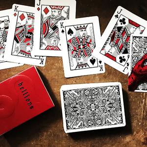 Madison Hellions Playing Cards