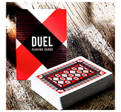 Duel Playing Cards – Red Edition
