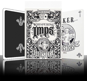 Gamesters Playing Cards - Black