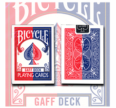 Gaff Effect Deck Bicycle Red