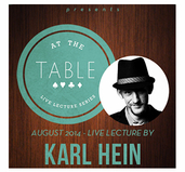 At the Table Live Lecture - Karl Hein - Download