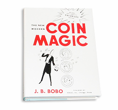 New Modern Coin Magic book JB Bobo