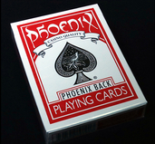 Phoenix Deck Blank Face Red