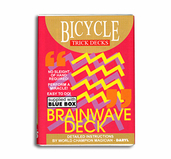 Brainwave Deck Bicycle Röd