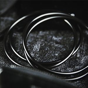 "4"" Linking Rings Black by TCC"