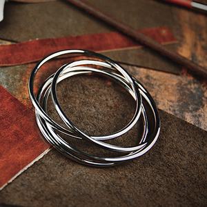 "4"" Linking Rings Chrome by TCC"