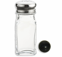 Ball in Salt Shaker