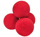 High Density Ultra Soft Sponge Ball Röda 3cm