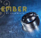 Ash and Ember Silver Beveled Size 22mm