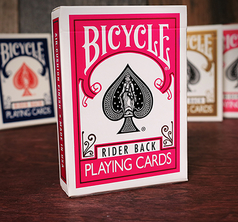 Bicycle Fuchsia Back