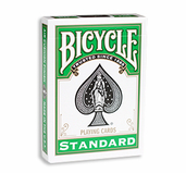 Bicycle Green Back