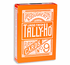 Tally Ho Reverse Fan back (Orange) Limited Ed