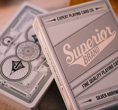 Superior Silver Arrow Playing Cards