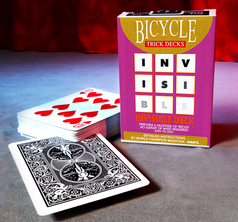 Invisible Deck Bicycle Svart