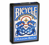 Bicycle Dragon Back Cards (Blue)