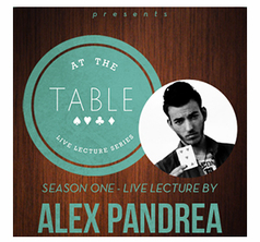 At the Table Live Lecture - Alex Pandrea - Download
