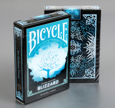 "Bicycle Natural Disaster ""Blizzard"" Playing Cards"
