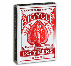 Bicycle 125 year Anniversary (Red)