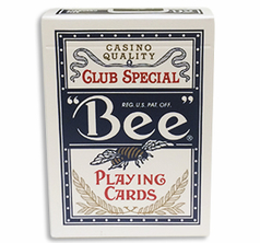 Bee Club Special - Poker Size Blå