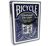 Bicycle Vintage Design - Thistle Back Blå