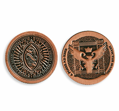 Artifact Coin version 2, Half Dollar