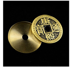 Expanded Chinese Coin Half Dollar Shell