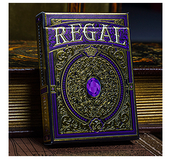 Regal Deck (Purple) by Gamblers Warehouse